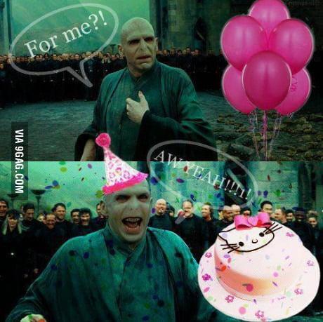 voldemort birthday Voldemort's birthday   9GAG voldemort birthday