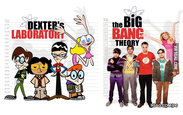 Dexter's Laboratory or The Big Bang Theory?