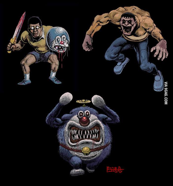 Gambar Doraemon Mirror