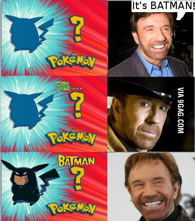 Its pika...wait...batman :s