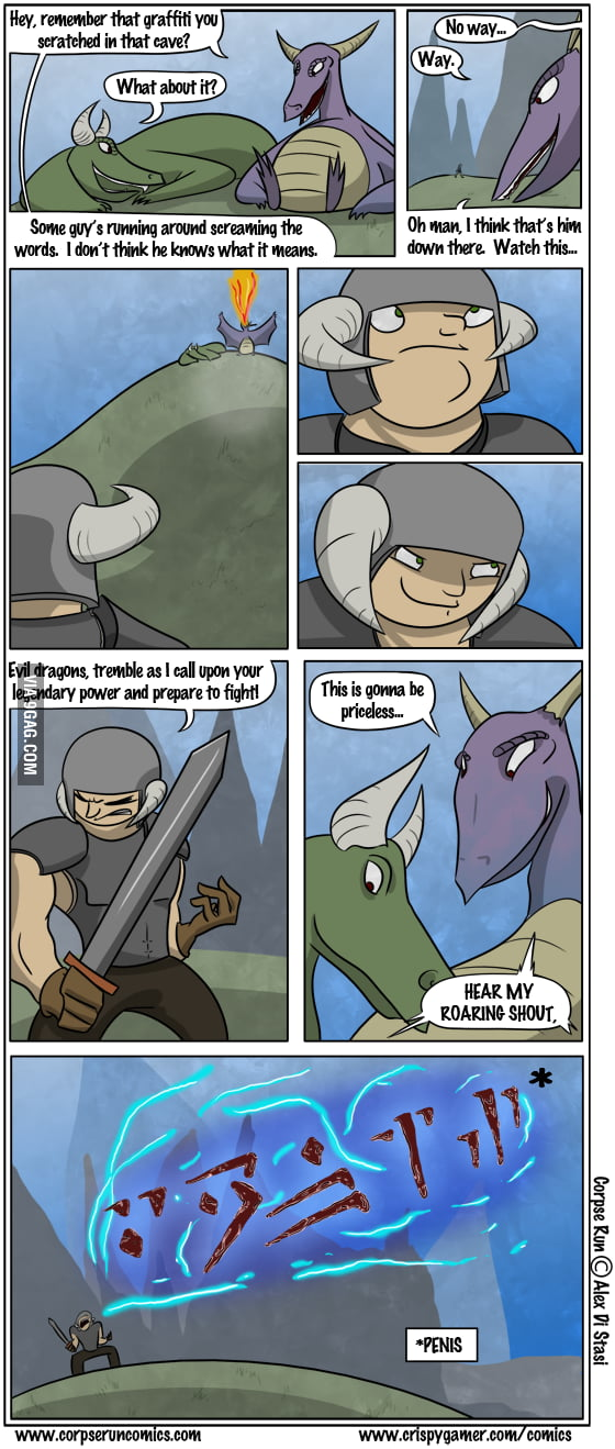 Another skyrim comic..