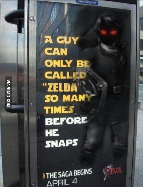 Link, the adventurer.