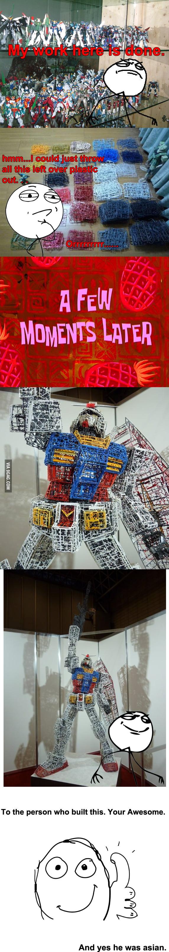 Gundam Level: Recycled
