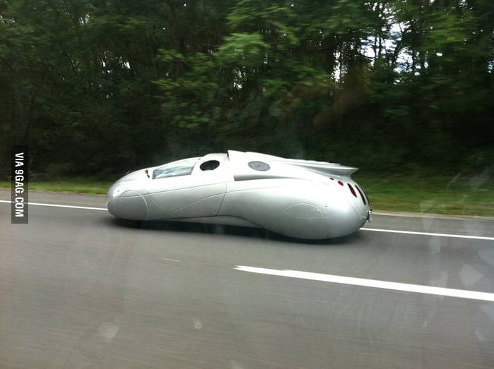 Spotted an unusual car on the Garden State Parkway today
