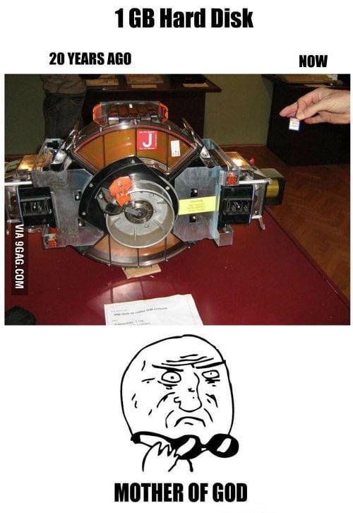 1GB Hard Disk