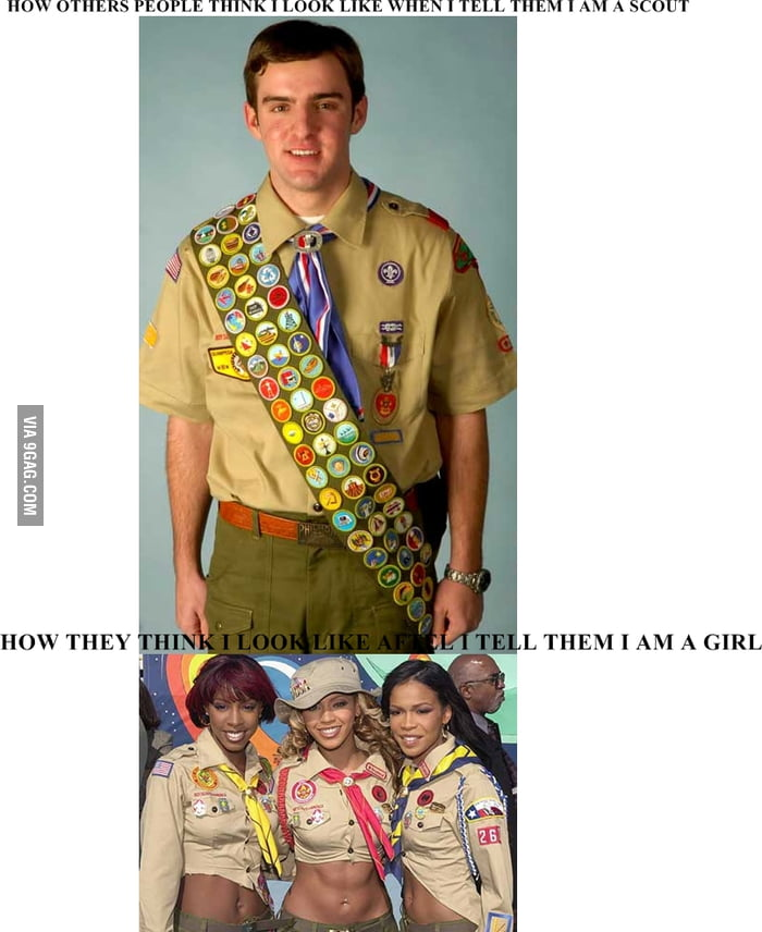 Just a scout girl...