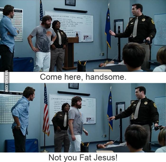 Zach Galifianakis as Fat Jesus