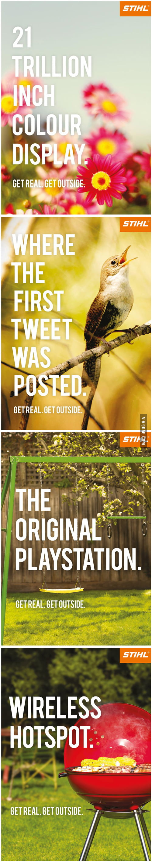 STIHL - get outdoors campaign