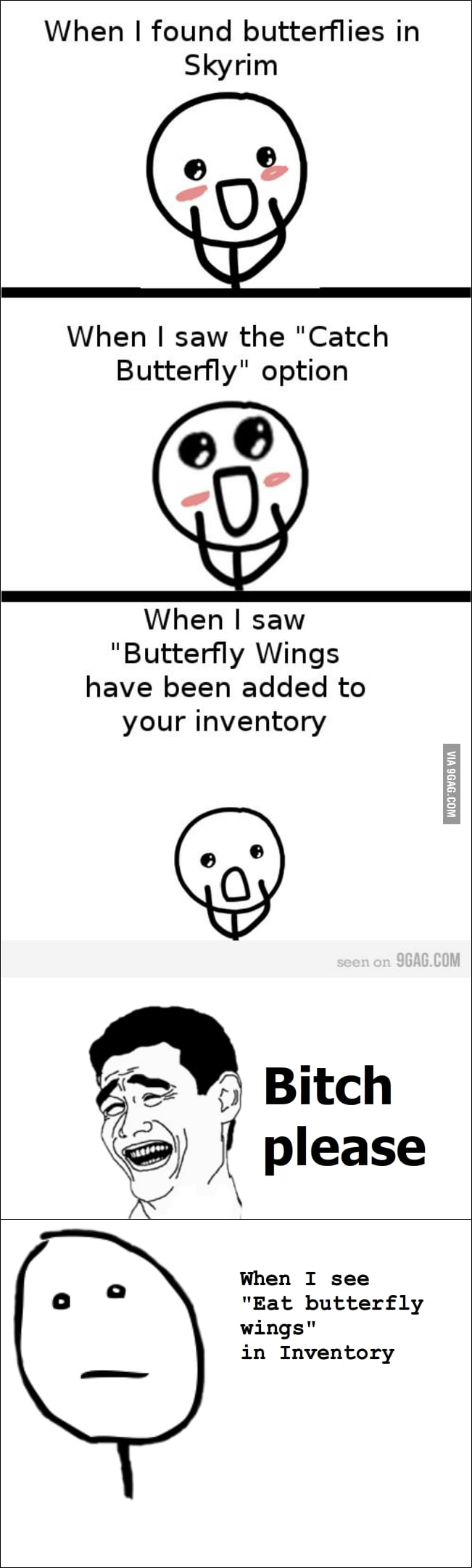 Skyrim butterfly - 9GAG
