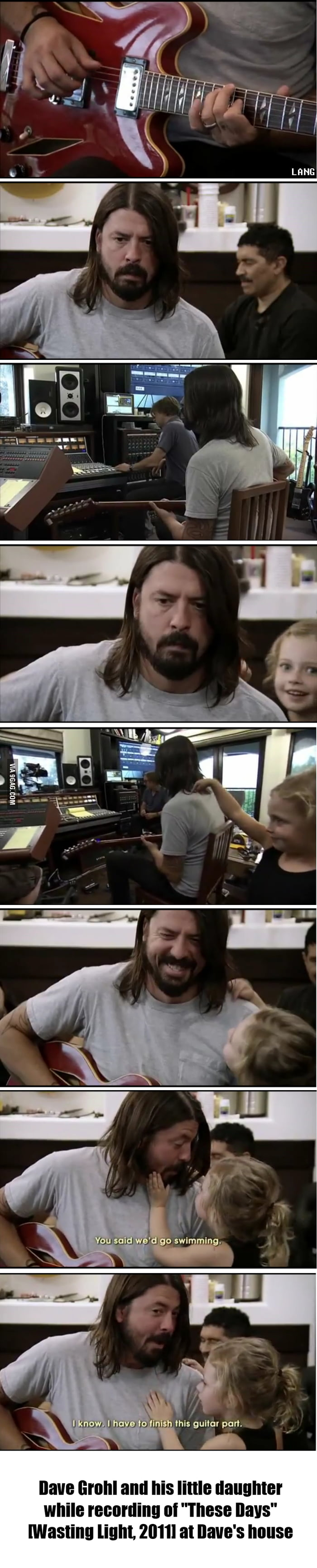 Grohl's Daughter