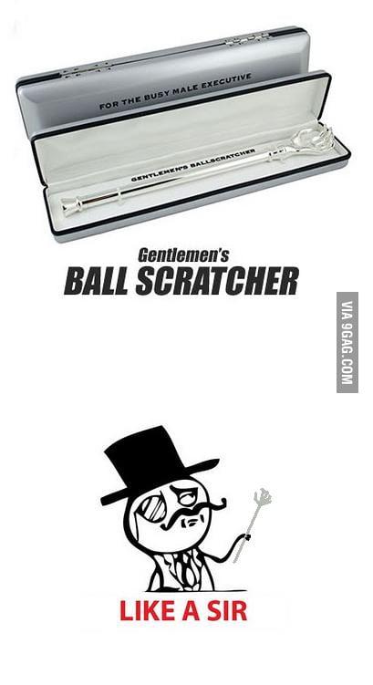 Gentlemen's Ball Scratcher