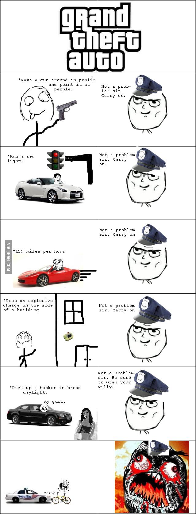 Grand Theft Auto logic...