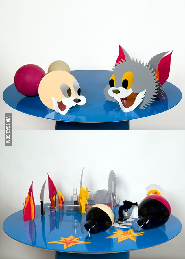 Perspective Tom & Jerry