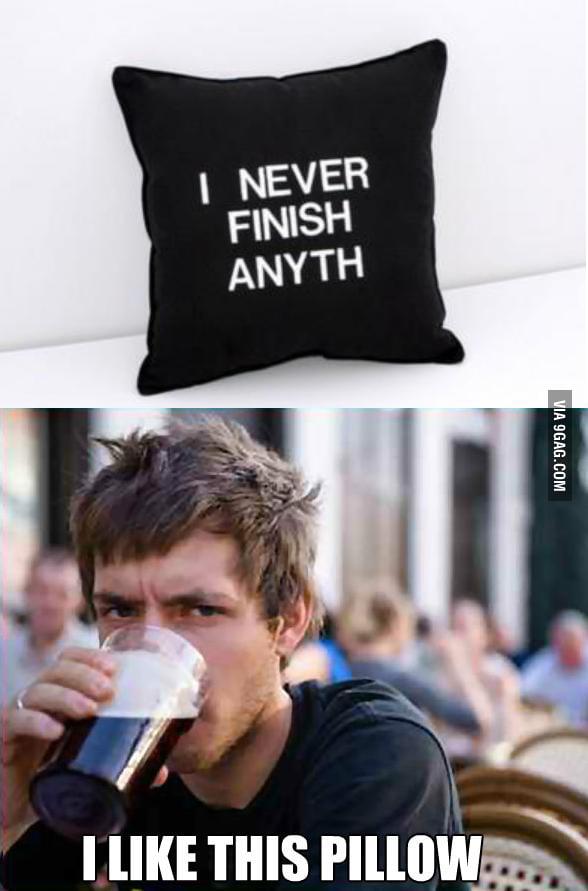 I found my pillow