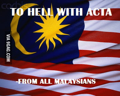 Support from all badass Malaysians