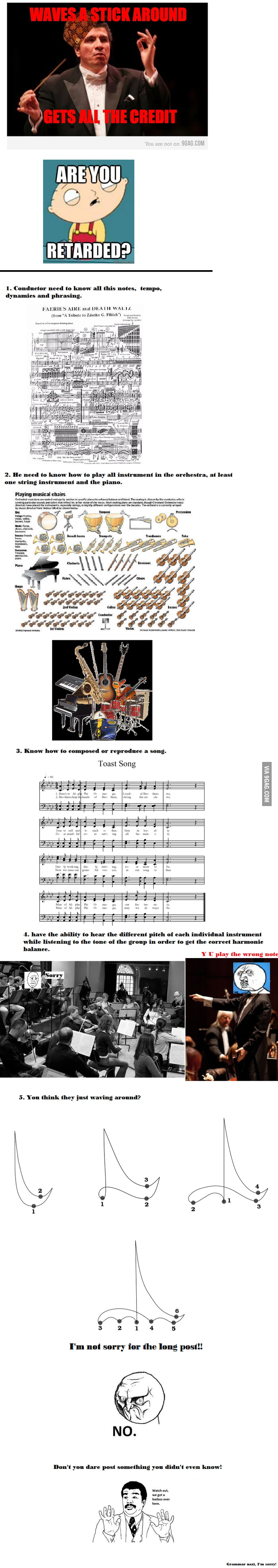 Scumbag Conductor? are you sure?