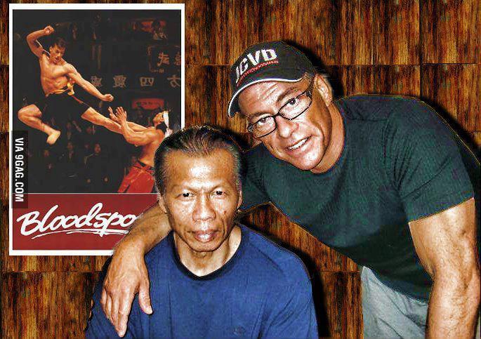 Just Chong Li and Frank Dux - 9GAG