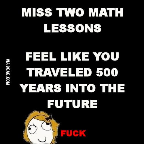 Scumbag math