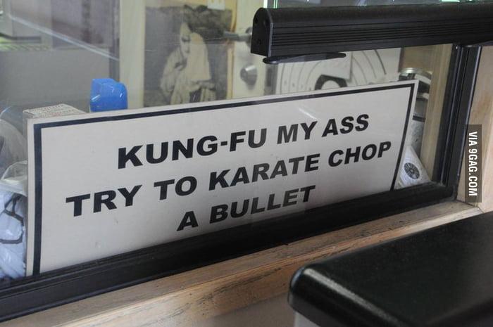 Take that Jackie Chan