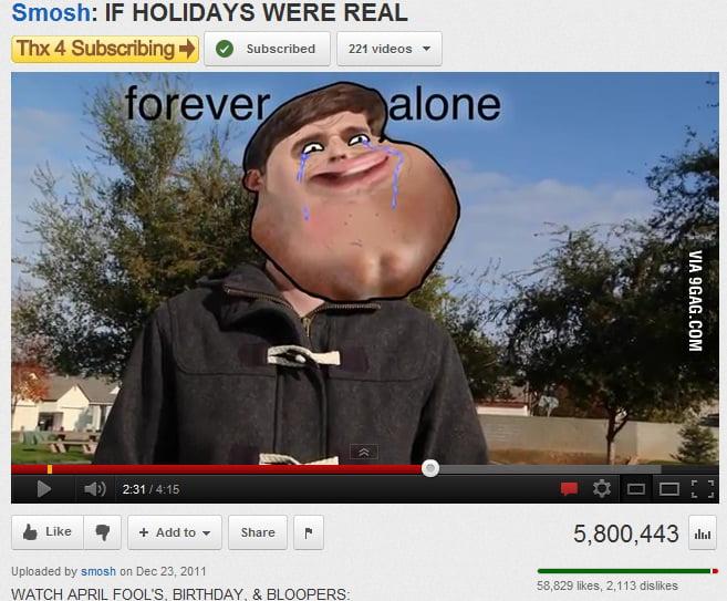 Smosh Valentines Forever Alone