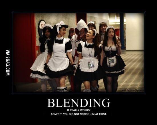 Blending... works