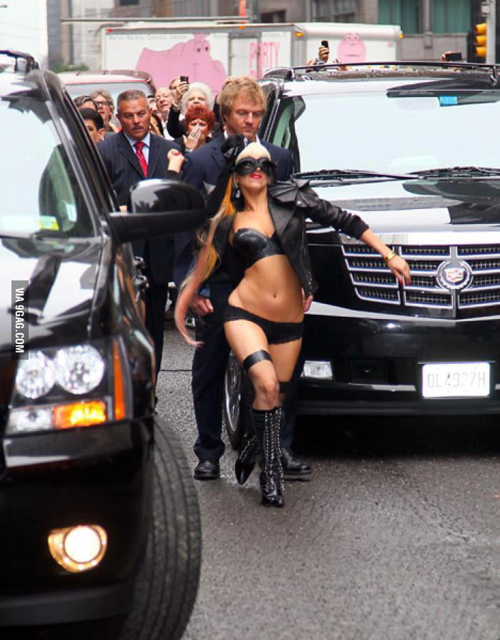 Oh Gaga, you're so silly.
