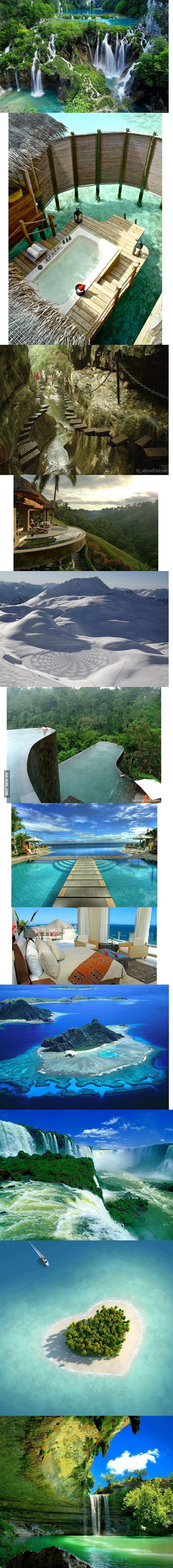Amazing semi-natural places