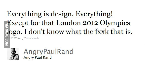 Everything is design except...
