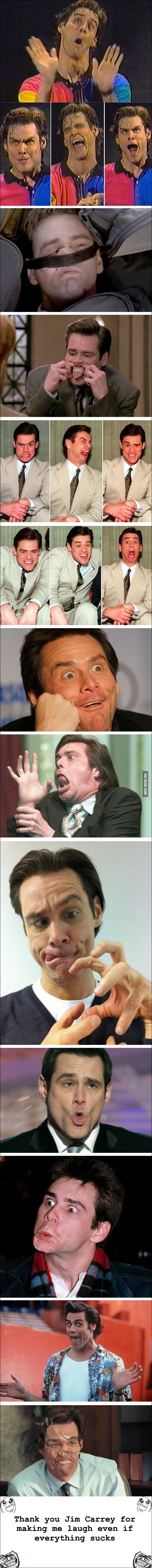 Jim Carrey Emotions