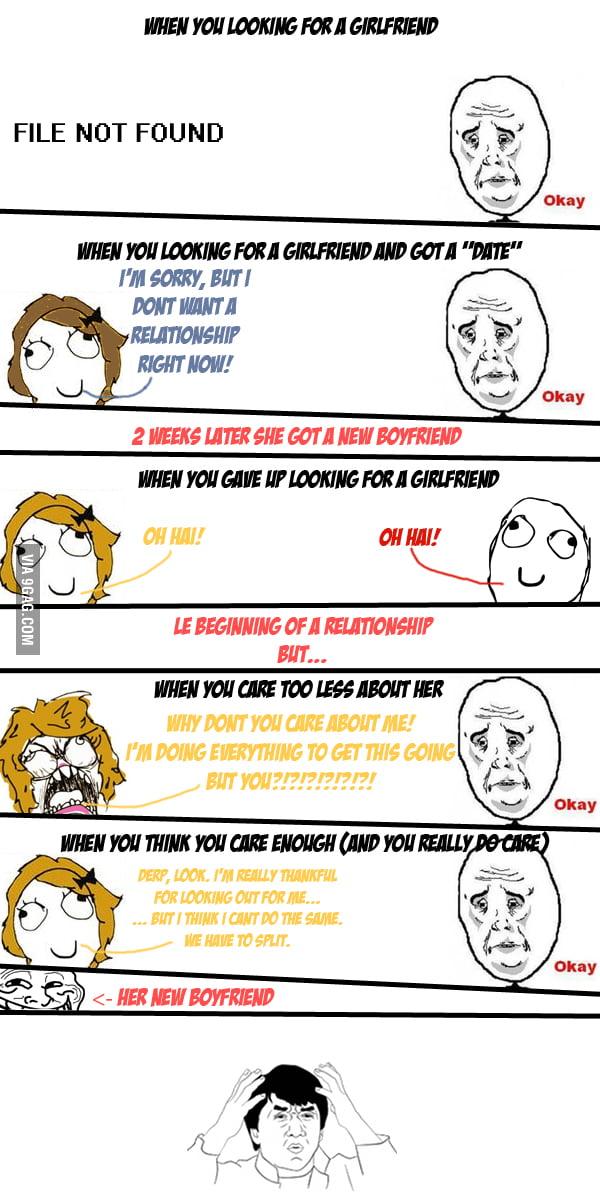 Relationships + Women Logic - 9GAG