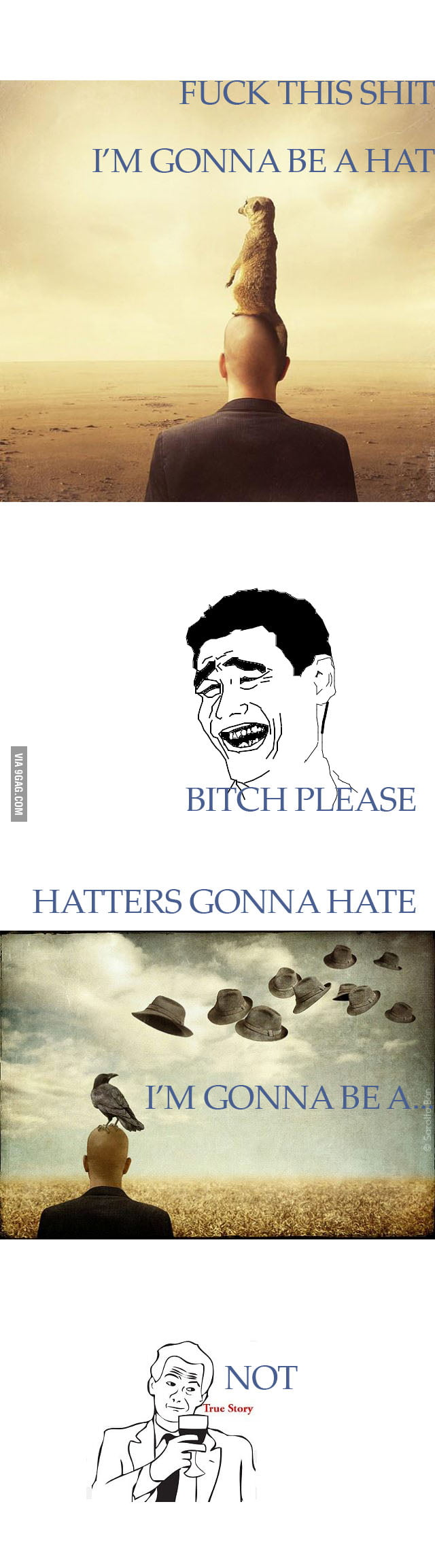 HATTERS GONNA HATE