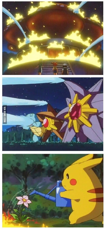Pikachu wants to help