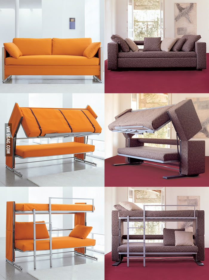 Space Saving Sofa space saving sofa bed - 9gag