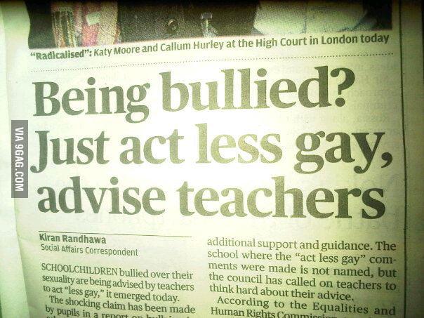 Teacher Advice FAIL