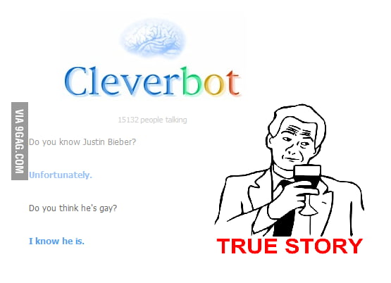 Epic Cleverbot is epic.