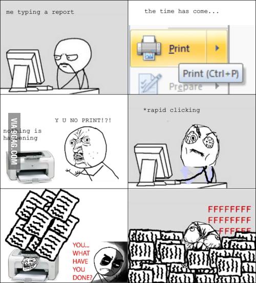 Printer logic