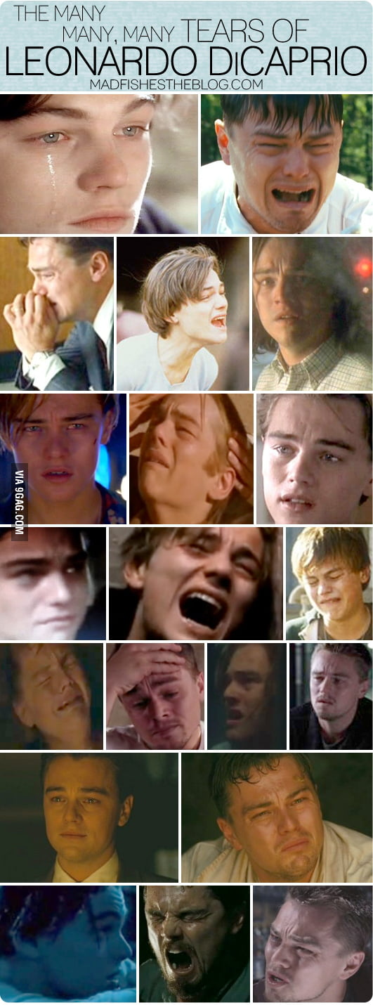The many tears of Leonardo DiCaprio