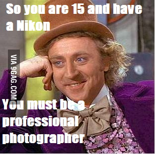You must be professional...