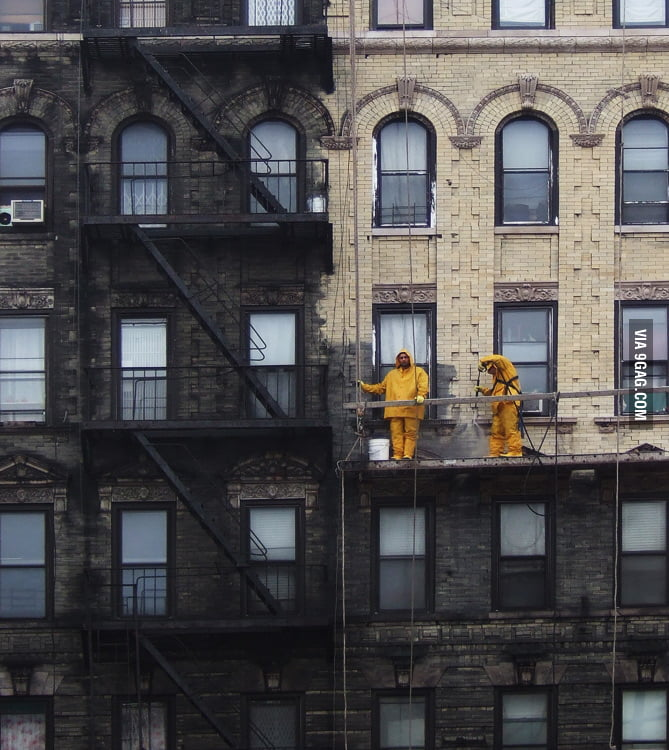 Power Washing in Manhattan: Before & After