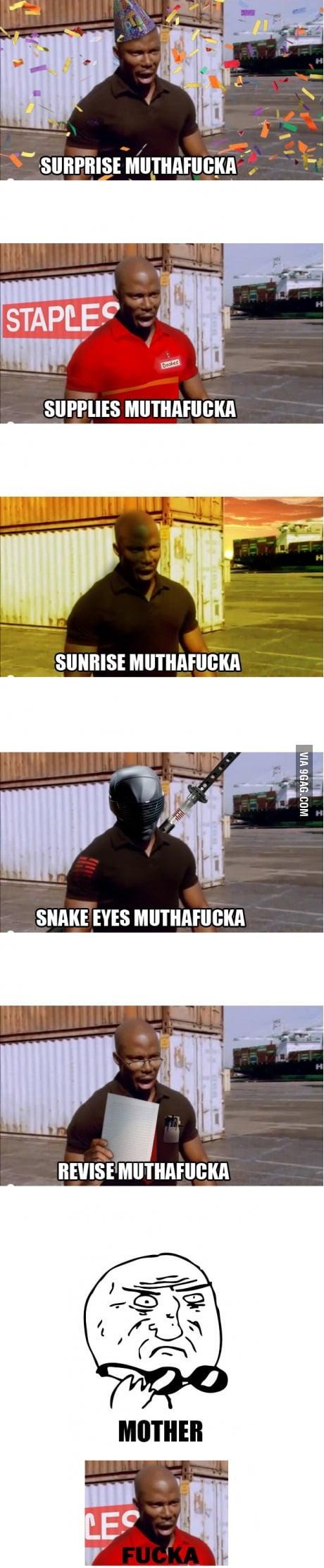Nice... muthaf***a
