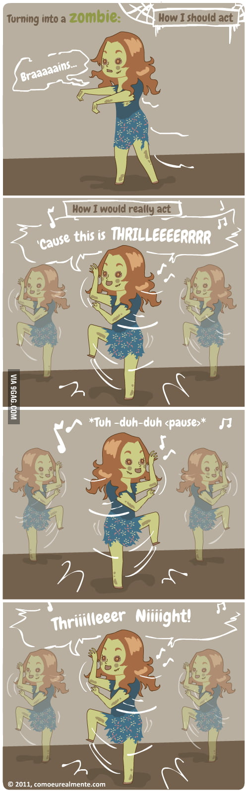 Zombie flashmob (or fleshmob *tu-dum-tss*)