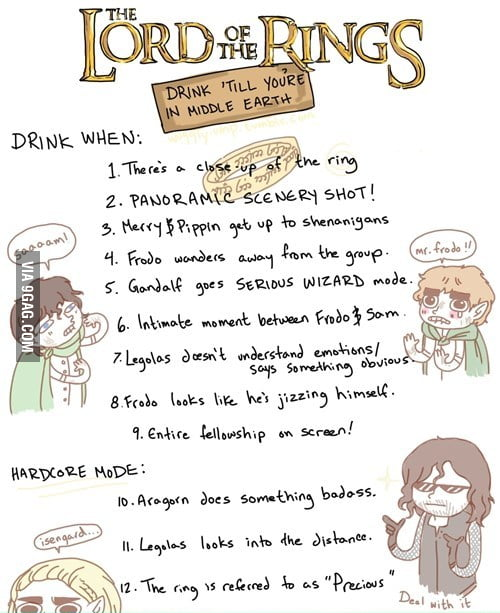 Fellowship of the Drinking Game