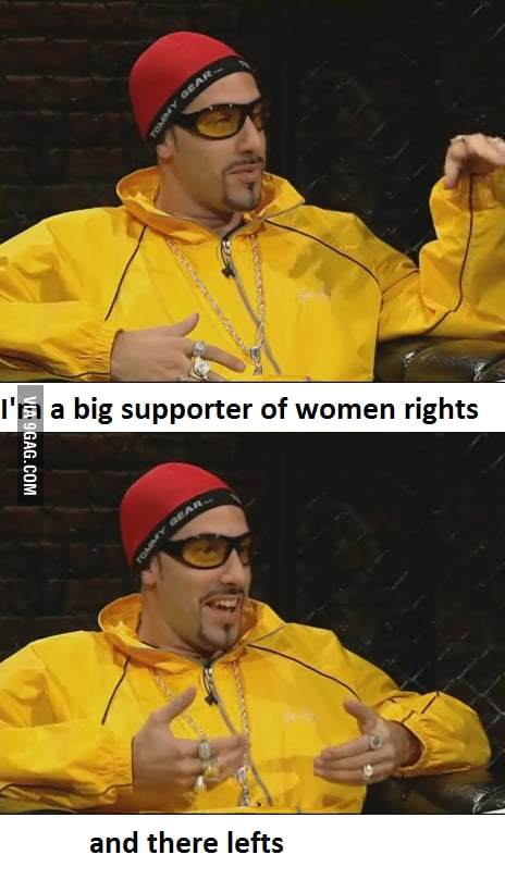 I'm a big supporter too , if you know what I mean