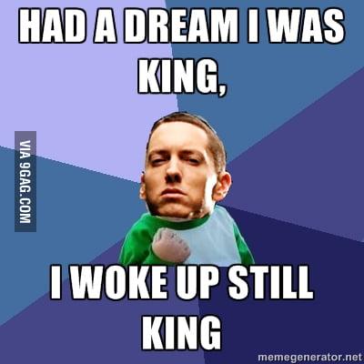 Eminem like a boss