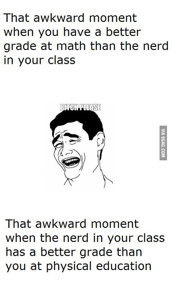 That akward moment...