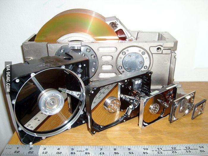 Hard drives 1979-2011