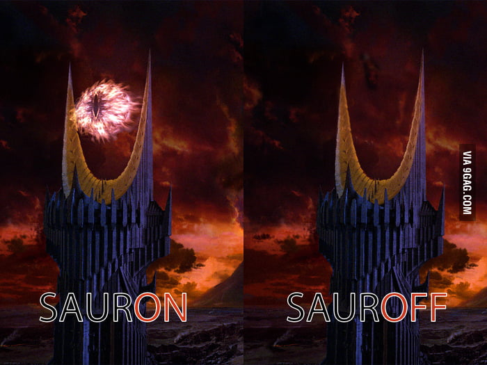 Just Barad Dûr turned off