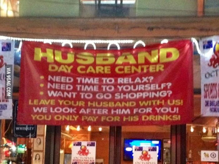 For the husbands