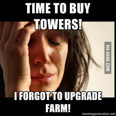 Legion TD, makes my world break down! - 9GAG