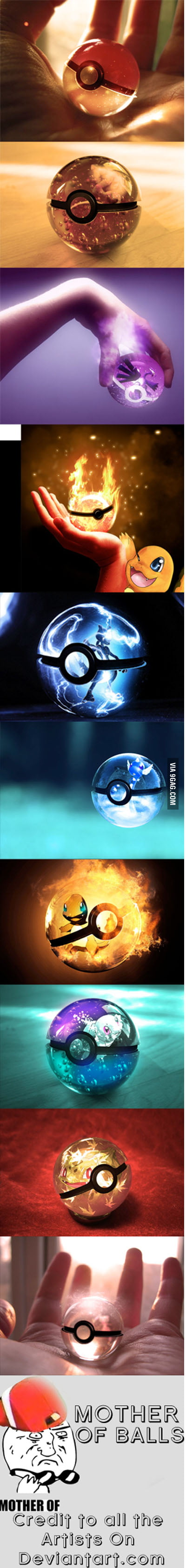 I heard you like pokeballs...